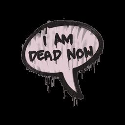 Sealed Graffiti | Dead Now (War Pig Pink)
