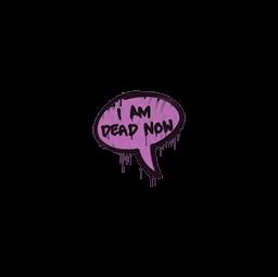Sealed Graffiti   Dead Now (Bazooka Pink)