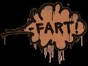 Sealed Graffiti | Fart (Tiger Orange)