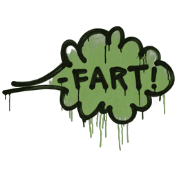 Sealed Graffiti   Fart (Battle Green)