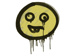 Запечатанный граффити | Глупыш (Дорожный желтый)
