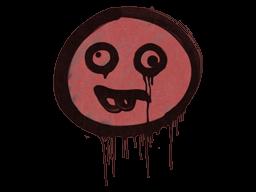 Запечатанный граффити | Глупыш (Кровавый красный)