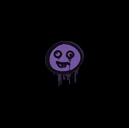 Sealed Graffiti   Goofy (Monster Purple)