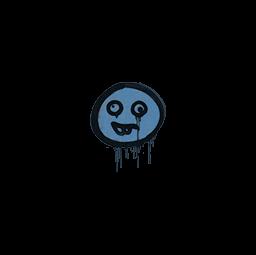 Sealed Graffiti | Goofy (Monarch Blue)