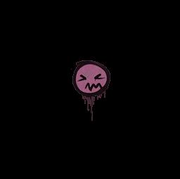 Sealed Graffiti | Grimace (Princess Pink)