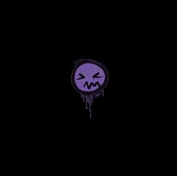 Sealed Graffiti | Grimace (Monster Purple)