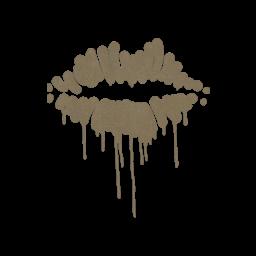 Sealed Graffiti | Kiss (Dust Brown)