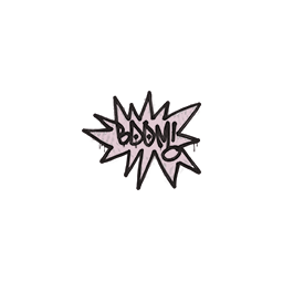 Sealed Graffiti | BOOM (War Pig Pink)