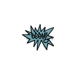 Sealed Graffiti | BOOM (Wire Blue)
