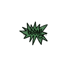 Sealed Graffiti | BOOM (Jungle Green)