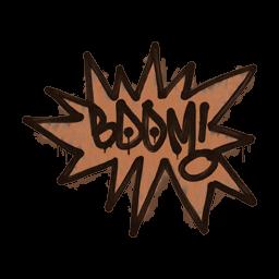 Sealed Graffiti | BOOM (Tiger Orange)