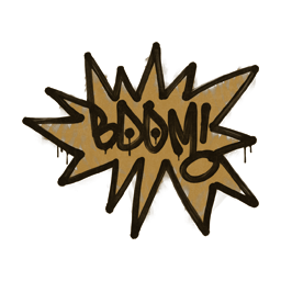 Sealed Graffiti | BOOM (Desert Amber)