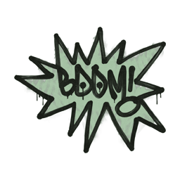 Sealed Graffiti | BOOM (Cash Green)