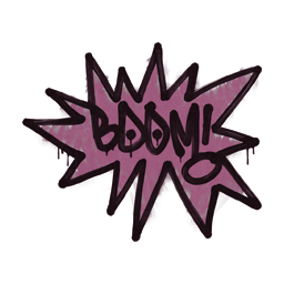 Sealed Graffiti | BOOM (Princess Pink)
