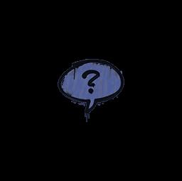 Sealed Graffiti | Question Mark (SWAT Blue)