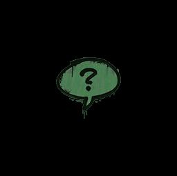 Sealed Graffiti | Question Mark (Jungle Green)