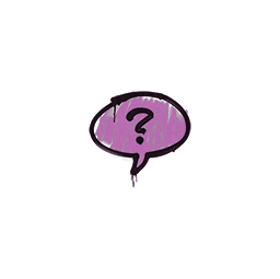 Sealed Graffiti | Question Mark (Bazooka Pink)