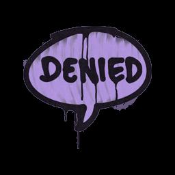 Sealed Graffiti | Denied (Violent Violet)