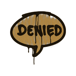 Sealed Graffiti | Denied (Desert Amber)