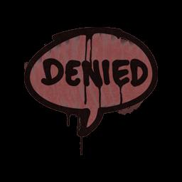 Sealed Graffiti | Denied (Brick Red)