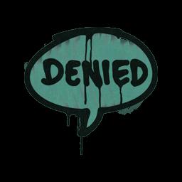 Sealed Graffiti | Denied (Frog Green)