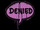 Sealed Graffiti | Denied (Bazooka Pink)