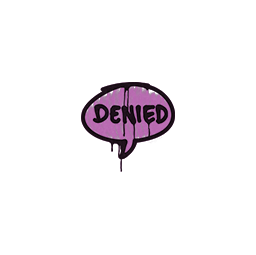 Sealed Graffiti | Denied (Bazooka Pink)