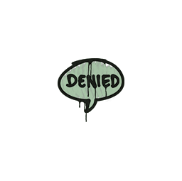 Sealed Graffiti | Denied (Cash Green)
