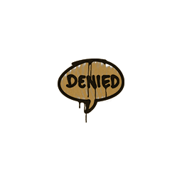 Sealed Graffiti | Denied (Desert Amber)