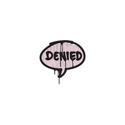 Sealed Graffiti | Denied (War Pig Pink)
