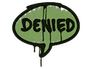 Skin Sealed Graffiti | Denied