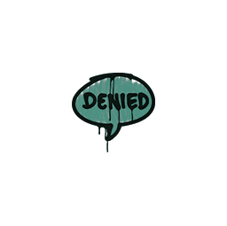 Sealed Graffiti | Denied (Frog Green)
