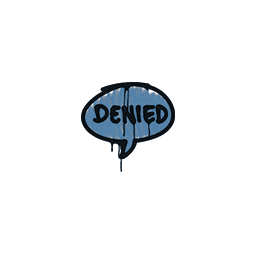 Sealed Graffiti | Denied (Monarch Blue)