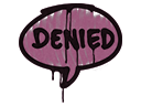 Sealed Graffiti | Denied (Princess Pink)