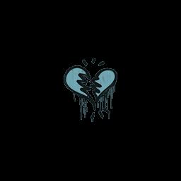 Sealed Graffiti   Broken Heart (Wire Blue)