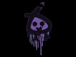 Sealed Graffiti | Little Bock (Monster Purple)