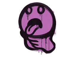 Sealed Graffiti | Choke (Bazooka Pink)