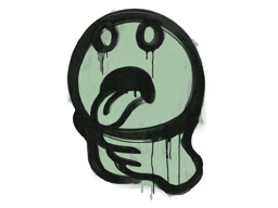 Sealed Graffiti | Choke (Cash Green)