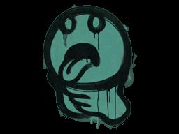 Sealed Graffiti | Choke (Frog Green)