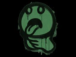 Sealed Graffiti | Choke (Jungle Green)