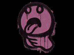 Sealed Graffiti | Choke (Princess Pink)