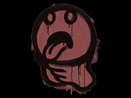 Sealed Graffiti | Choke (Brick Red)