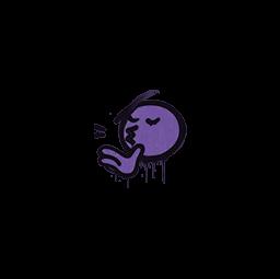 Sealed Graffiti | Chef Kiss (Monster Purple)