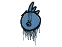 Sealed Graffiti   Bock Bock (Monarch Blue)