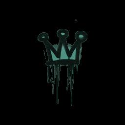 Sealed Graffiti | Little Crown (Frog Green)