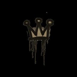 Sealed Graffiti | Little Crown (Dust Brown)