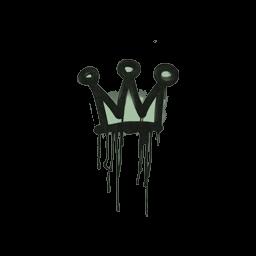 Sealed Graffiti | Little Crown (Cash Green)