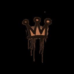Sealed Graffiti | Little Crown (Tiger Orange)