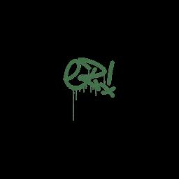 Sealed Graffiti | Little EZ (Jungle Green)