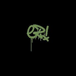 Sealed Graffiti | Little EZ (Battle Green)